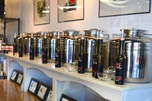 Balsamic vinegars at Olive This!